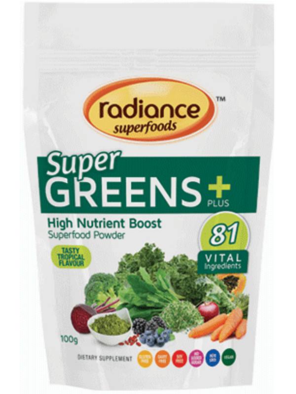 Radiance Super Foods Greens + 100g