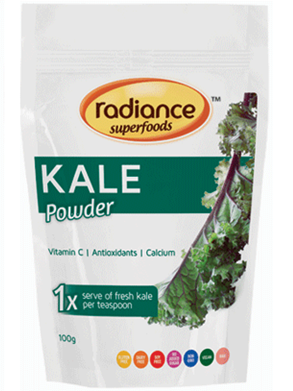 Radiance Super Foods Kale Powder 100g
