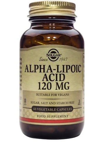 Solgar Alpha Lipoic Acid 120mg