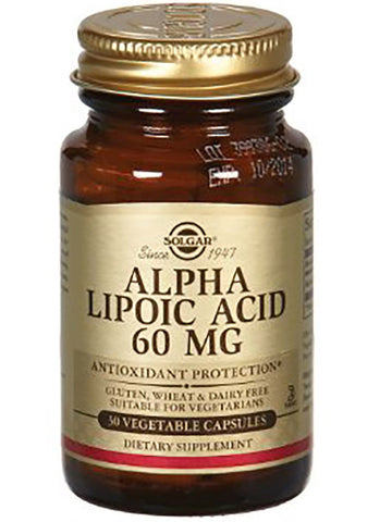Solgar Alpha Lipoic Acid 60mg