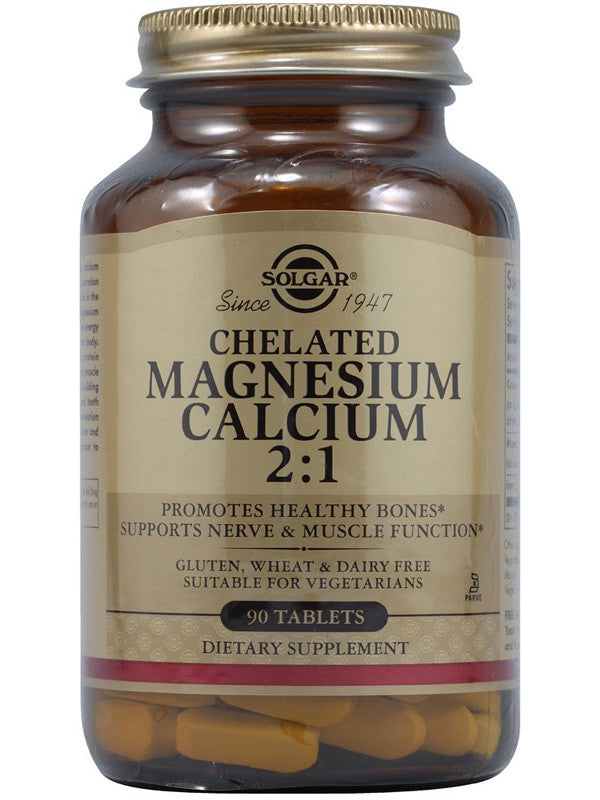 Solgar Chelated Calcium / Magnesium 1:2