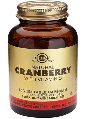 Solgar Cranberry Extract with vitamin C
