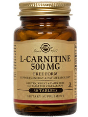Solgar L-Carnitine 500mg