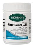 Thompson's Gel-Free Flaxseed Oil 1000mg