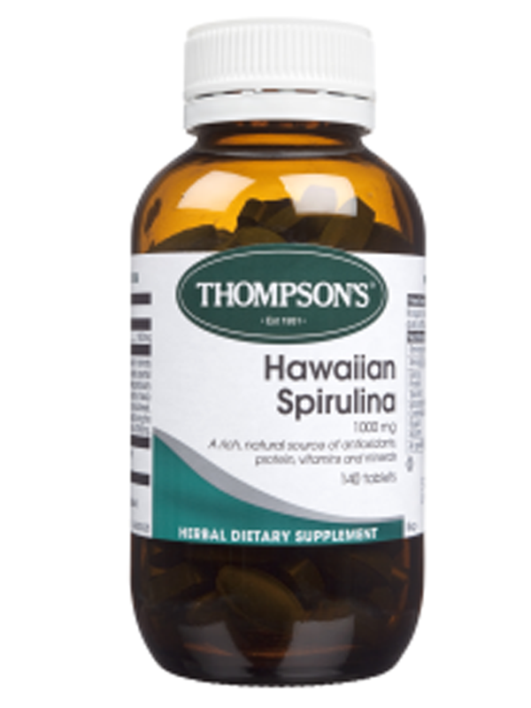 Thompson's Hawaiin Sprirulina 1000mg