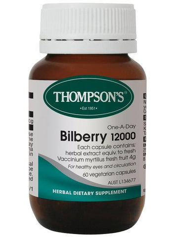 Thompson's One-a-day Bilberry 12001