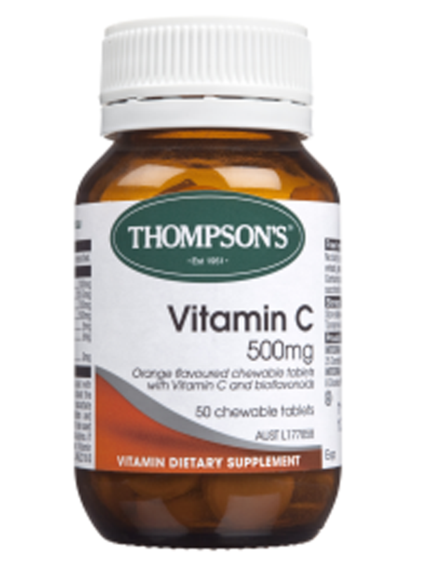 Thompson's Vitamin C 500mg