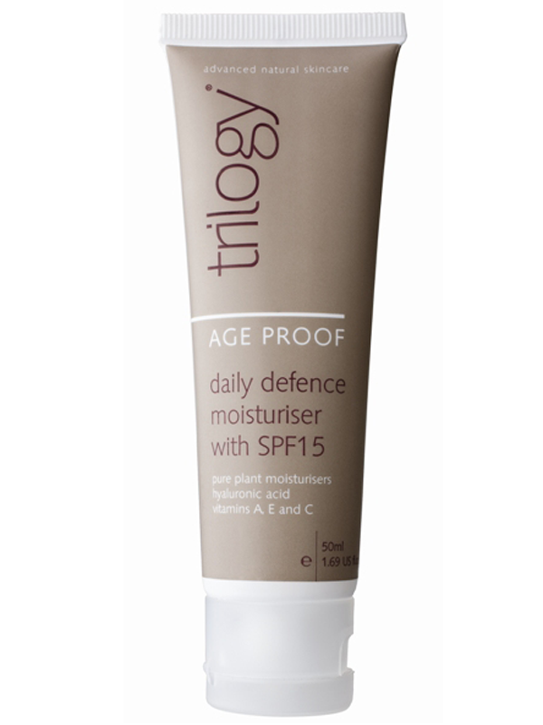 Trilogy Daily Defence Moisuriser SPF15