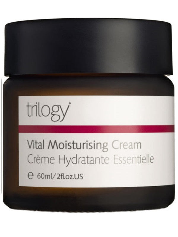 Trilogy Vital Moisturising Cream Jar