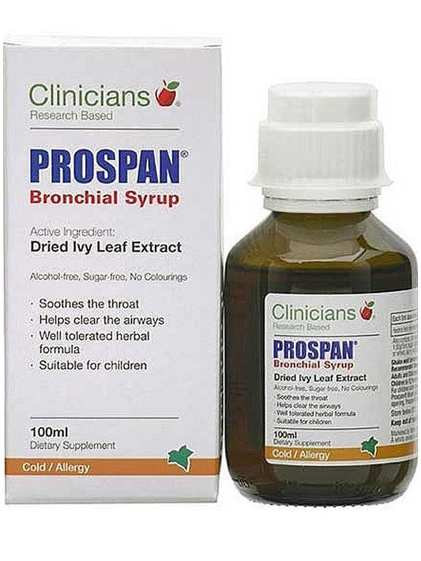 Clinicians Prospan Bronchial Syrup