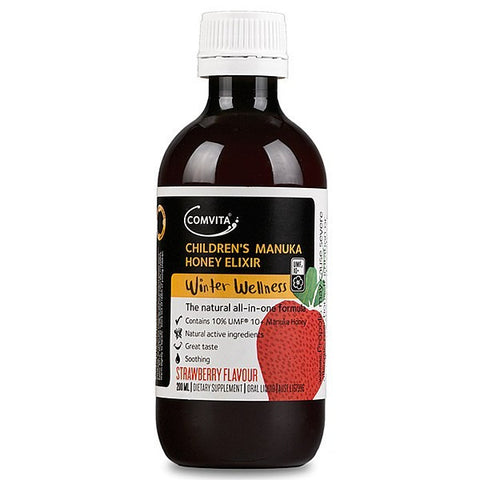 Children's Manuka Honey Elixir - Strawberry