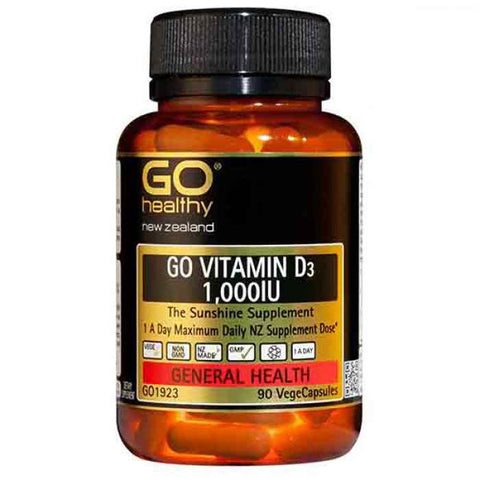 GO Healthy Vitamin D3 1000IU