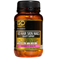 GO Healthy Hair Skin Nails Beauty Support