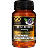 GO Healthy Bilberry 20,000mg