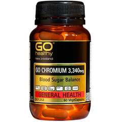 GO Healthy Chromium 3340mcg