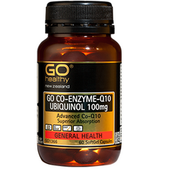 GO Healthy CO-Q10 UBIQUINOL 100mg