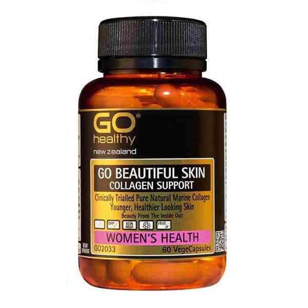 GO Healthy Go Beautiful Skin - Collagen Support