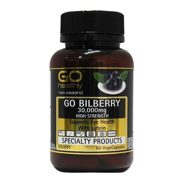 GO Healthy GO Bilberry 30000mg 60 Vcap
