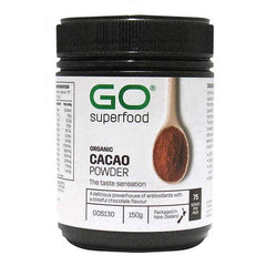 GO Healthy GO Cacao Powder Organic 150g