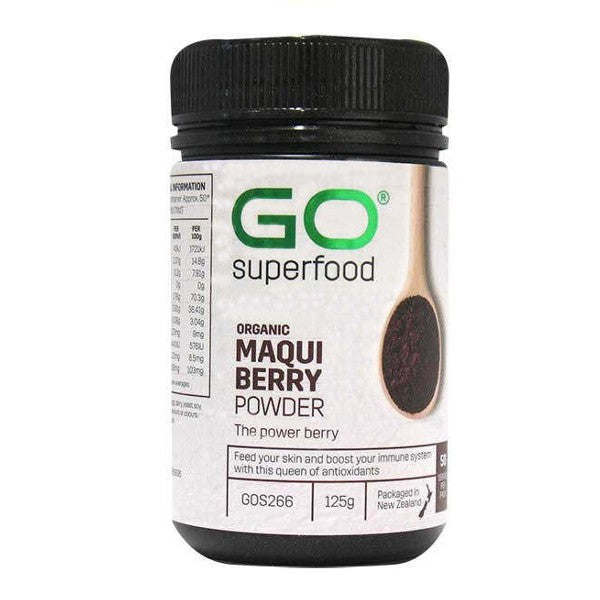 GO Healthy GO Macqui Berry Powder Organic 125g