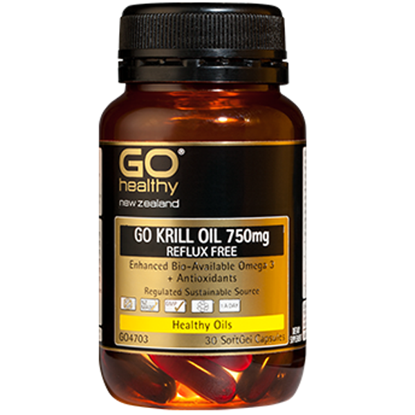 GO Healthy Krill Oil 750mg