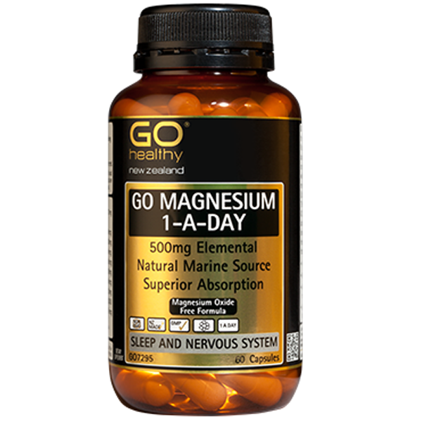 GO Healthy Magnesium 1-a-day Elemental
