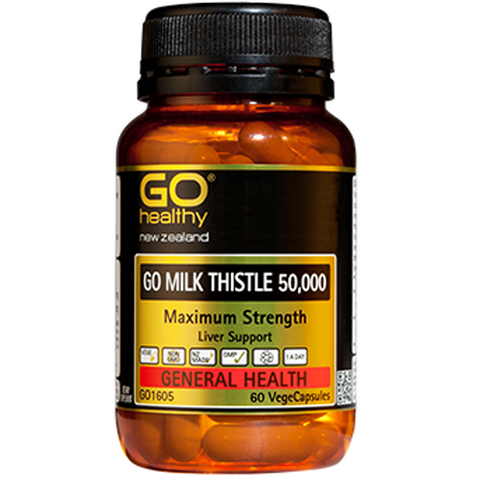 GO Healthy Milk Thistle 50,000