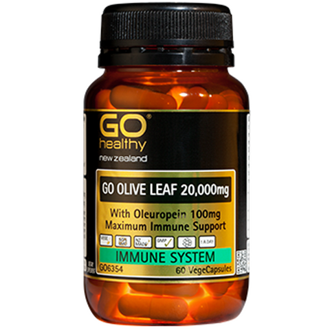 GO Healthy Olive Leaf 20,000mg