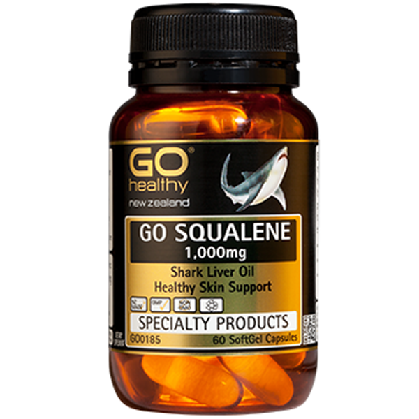 GO Healthy Squalene 1,000mg (shark liver)