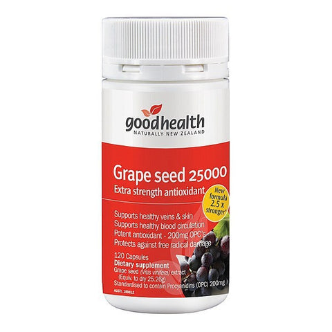 Good Health Grape Seed 25,000