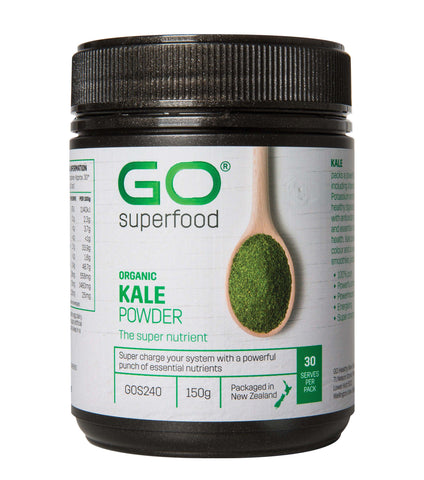 GO Healthy GO Kale Powder Organic 150g
