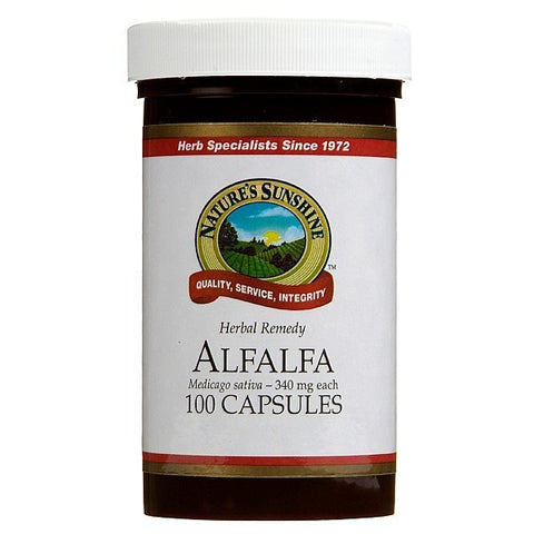Nature's Sunshine Alfafa 340mg