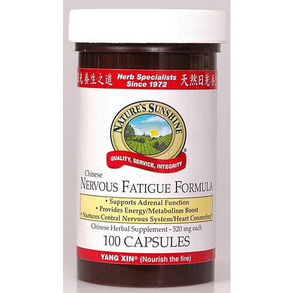 Nature's Sunshine Nervous Fatigue Formula