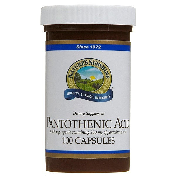Nature's Sunshine Pantothentic Acid 250mg