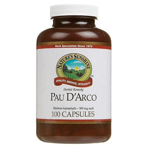 Nature's Sunshine Pau D'Arco (Taheebo) 500mg