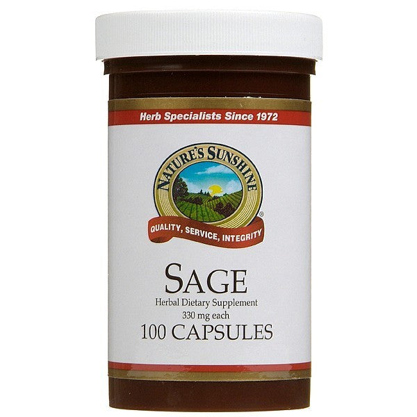 Nature's Sunshine Sage 330mg