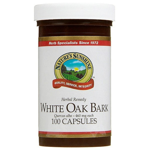 Nature's Sunshine White Oak Bark 460mg