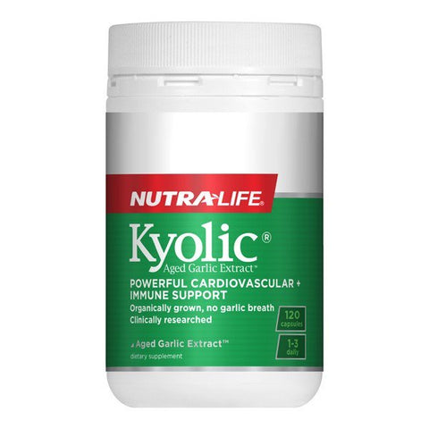 Nutralife Kyolic Aged Garlic Extract High Potency
