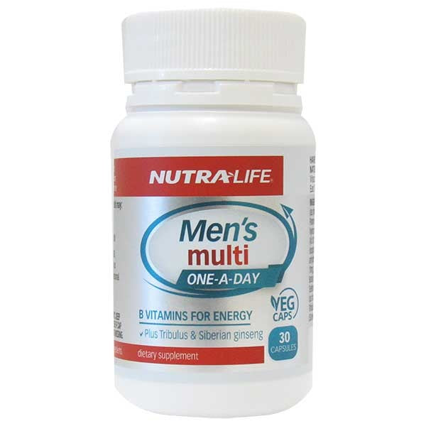 Nutralife Mens Multi Complete 1-A-Day