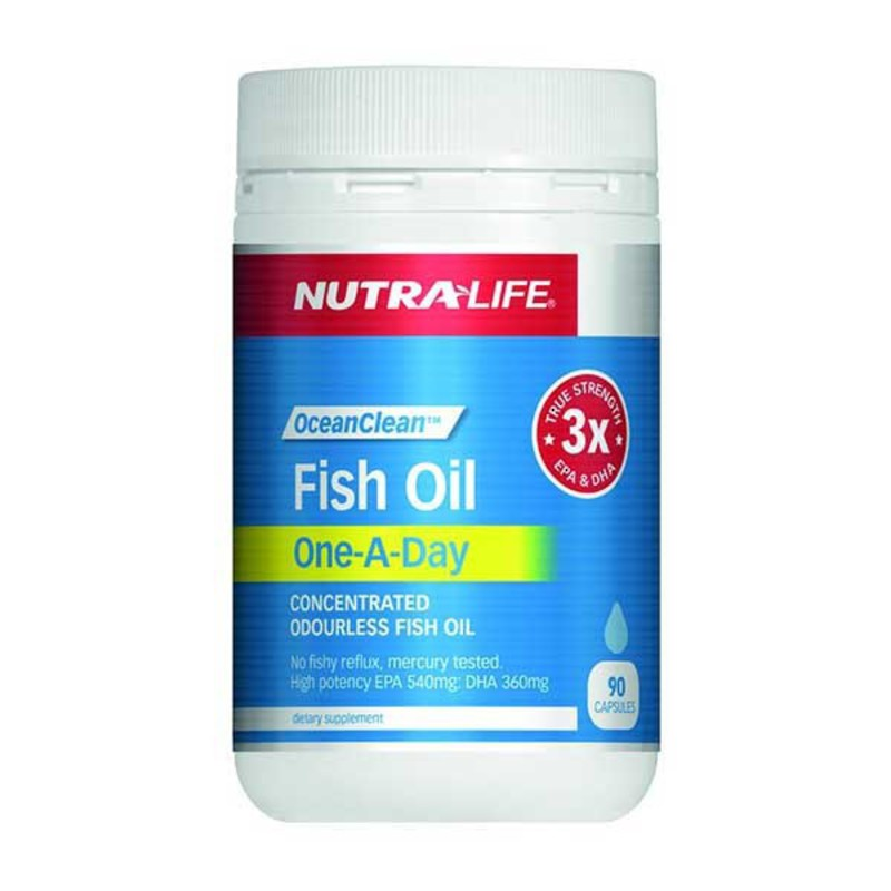 Nutralife Fish Oil Ocean Clean 1-a-day