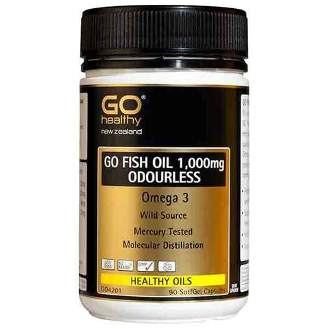 GO Fish Oil 1,000mg