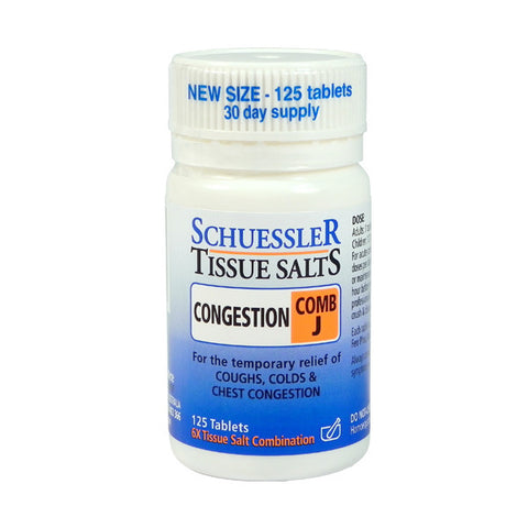 Martin and Pleasance Comb J Schuessler Tissue Salts 125 Tablets
