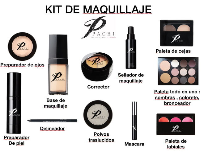 ESSENTIAL MAKEUP KIT / KIT DE MAQUILLAJE ESSENCIAL
