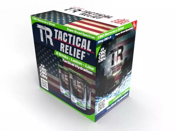 Tactical Relief Electrolyte Replacement Hydration (6-PACK)