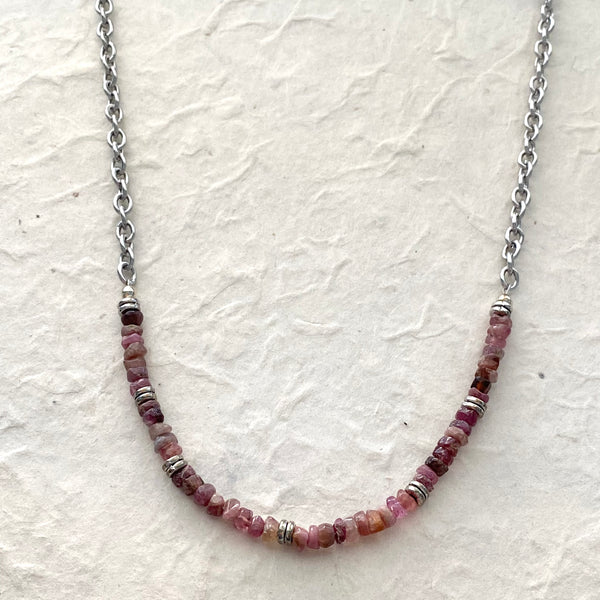 Tourmaline Nugget Necklace