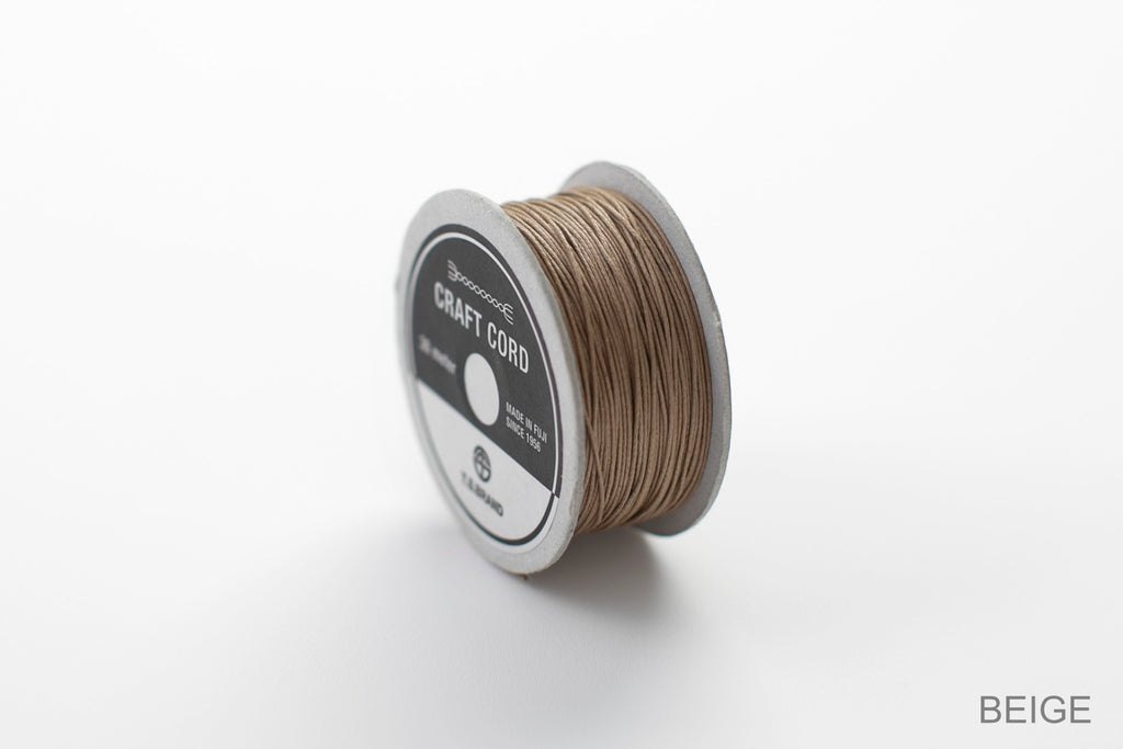 CRAFT CORD -WAX CORD- BEIGE