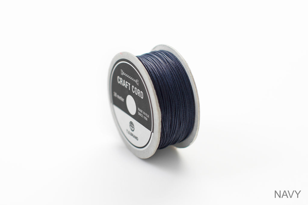 CRAFT CORD -WAX CORD- NAVY