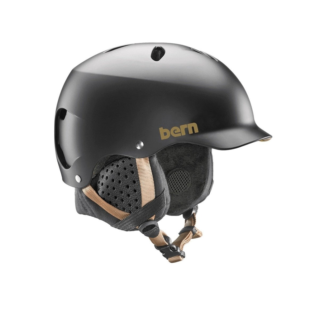 Bern Lenox Snow Helmet - Women's - Satin Black w/ Black Trim - Medium?id=15662890582075