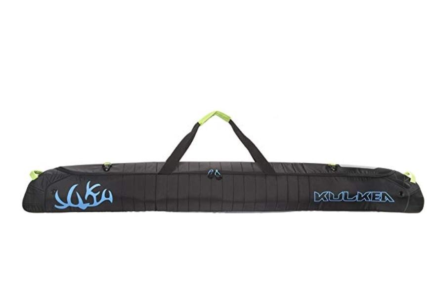 Kulkea Kantaja Padded Ski Bag - 170 cm, Black/Blue/Green?id=15664706125883