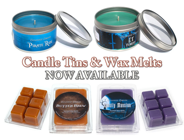 Candle Tins and Wax Melts